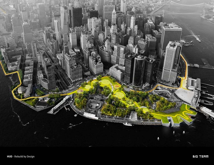 Big U by Bjarke Ingels Group