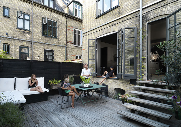 Copenhagen Townhouse Outdoor Space