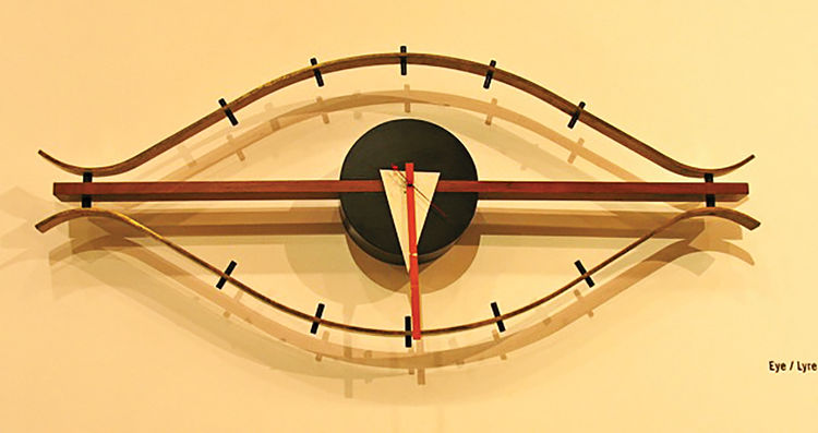 1957 Eye Clock for George Nelson by Lucia DeRespinis