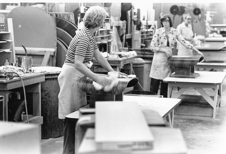 Herman Miller Factory Employees in the 1970s
