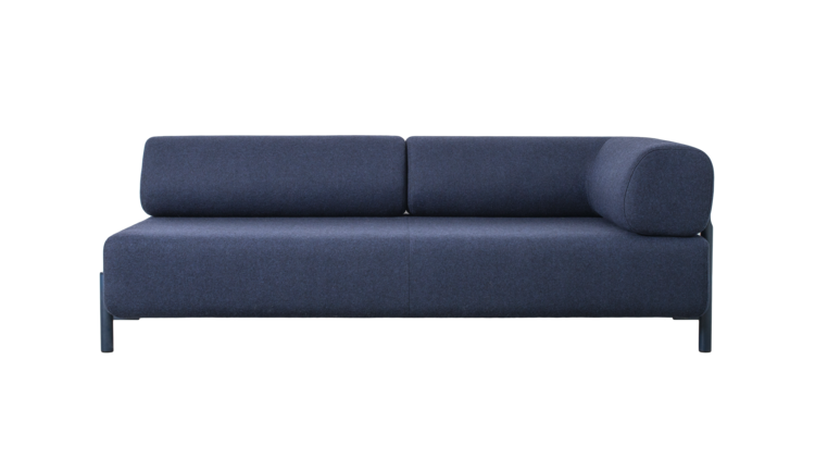 Hem Palo modular sofa with blue wool upholstery