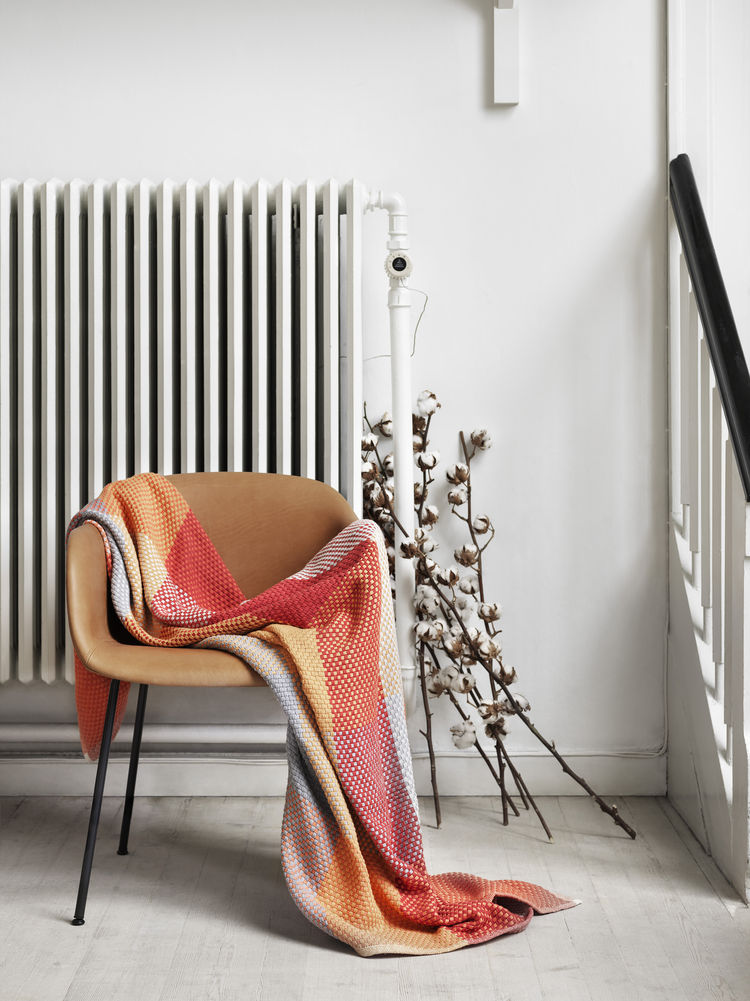 Simon Key Bertman Loom Throw for Muuto