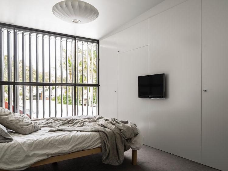 Bedroom of the Alexandria House in Sydney