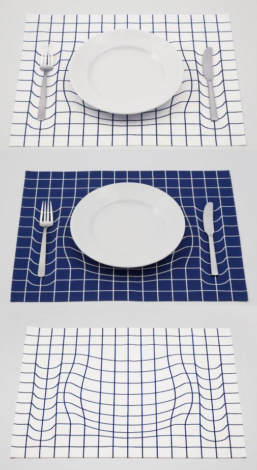 AP Works grid placemat