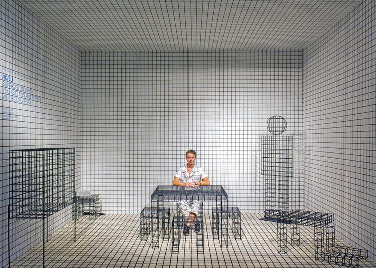 Patrik Parrish with Superstudio grids