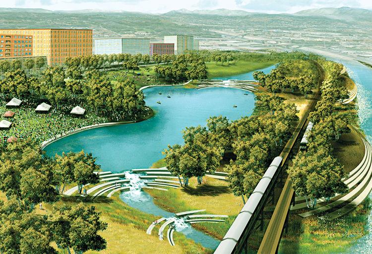 Los Angeles River Revitalization Plan