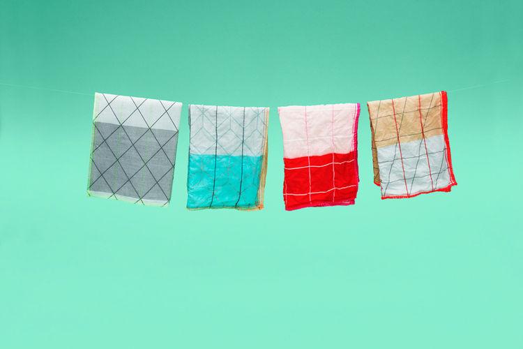 Scholten & Baijngs grid tea towel for HAY