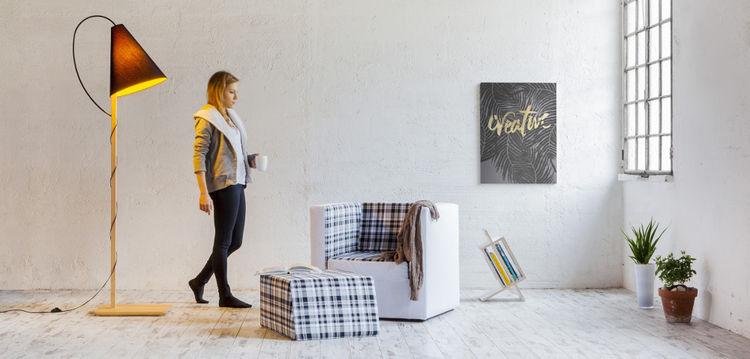 Clarina floor lamp for Formabilio