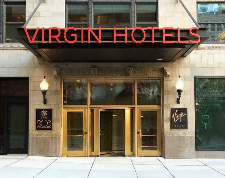 Virgin Hotel Chicago designed by Rockwell Group Europe exterior