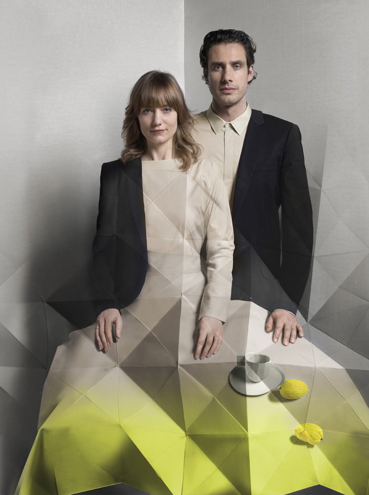 Stefan Scholtens and Carole Baijings portrait