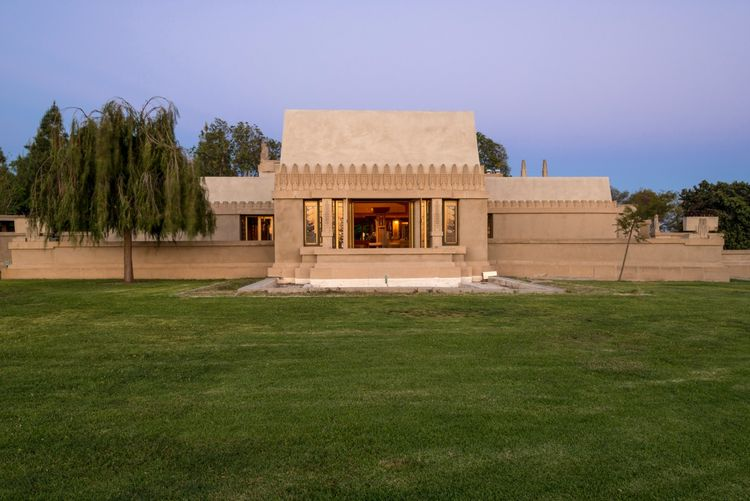 Frank Lloyd Wright Hollyhock Los Angeles