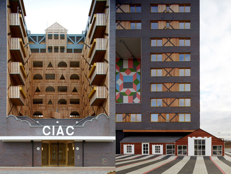 FAT Architects CIAC facade
