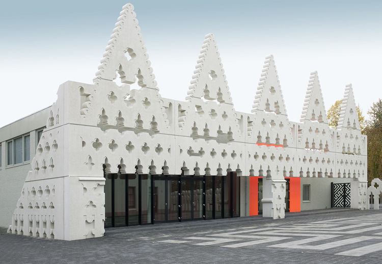 FAT Architects Sint Lucas school facade