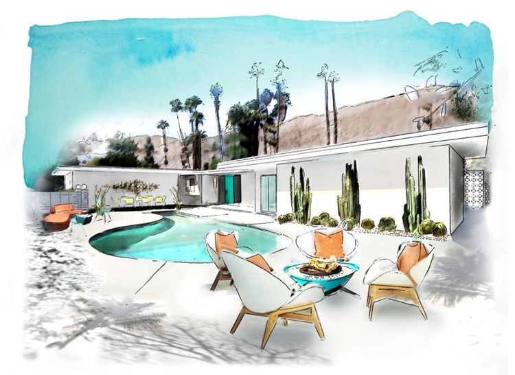 Palm Springs Christopher Kennedy compound
