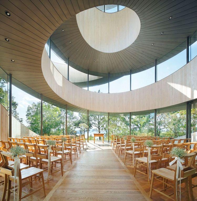 Hiroshi Nakamura's Ribbon Chapel in Hiroshima Japan