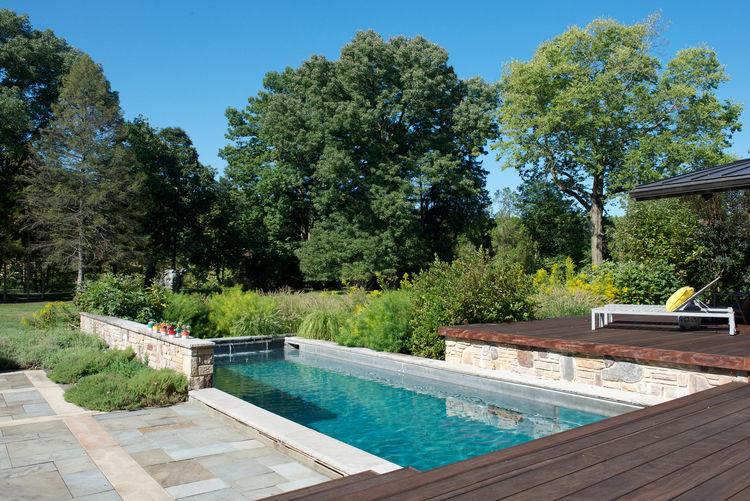 Stonefox house pool