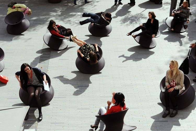 Thomas Heatherwick Spun chair British design Herman Miller