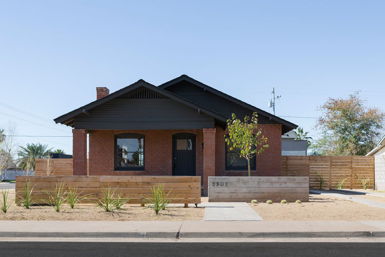Exterior of Phoenix Industrial Bungalow