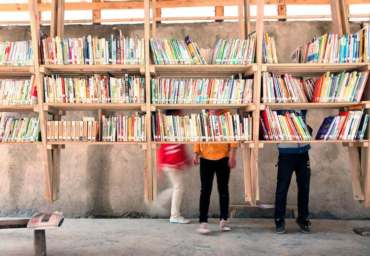 The Pinch library, Yunnan Province, China