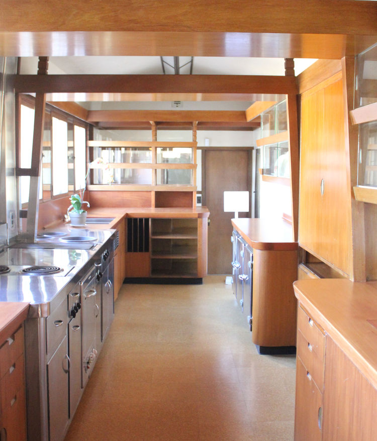 Frank Lloyd Wright Hollyhock House Los Angeles Kitchen