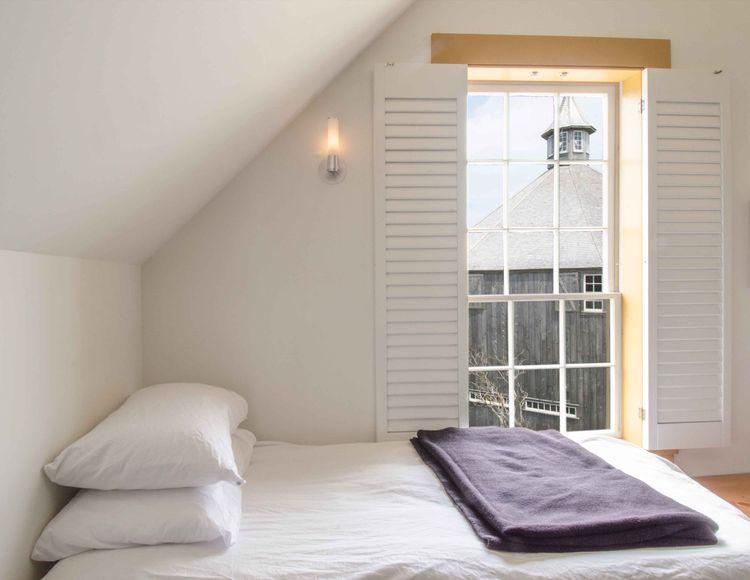 Chebogue Schoolhouse bedroom