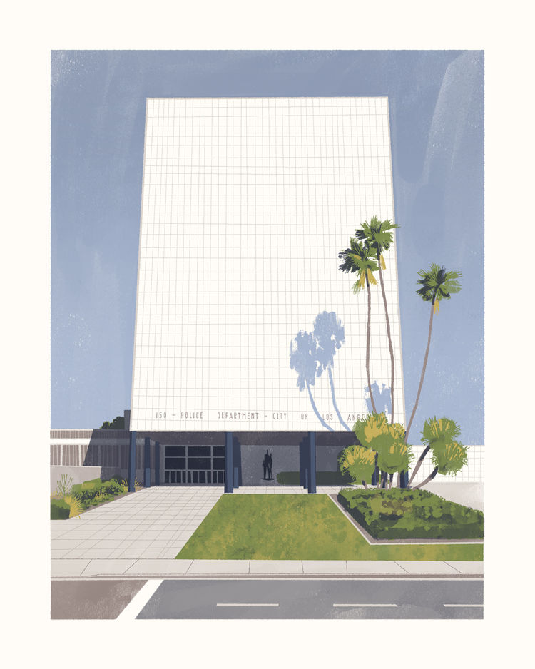 California modernism Parker Center Chris Turnham Welton Becket