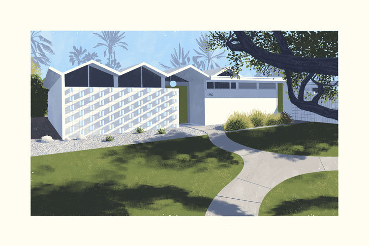 California midcentury modernism Chris Turnham