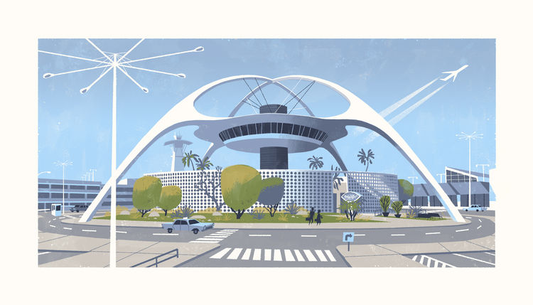 California modernism LAX Chris Turnham