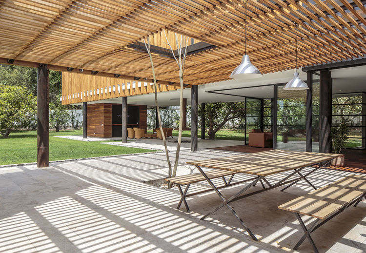 A modern family home in Ecuador
