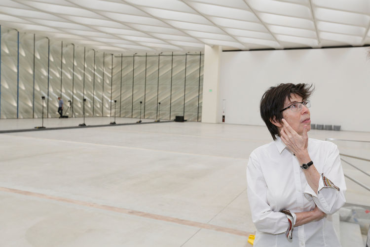 The Broad Museum Downtown Los Angeles Architect Elizabeth Diller of Diller Scofidio + Renfro