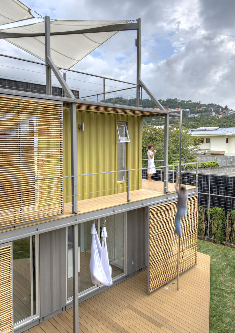 Costa Rican Shipping Container Home Casa Incubo Exterior
