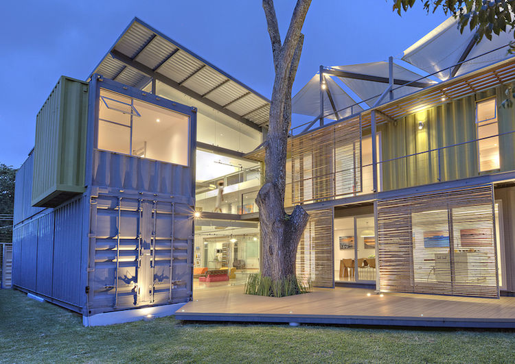 Costa Rican Shipping Container Home Casa Incubo