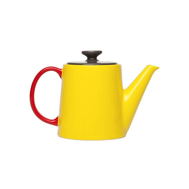 jansen and co. tea pot in yellow