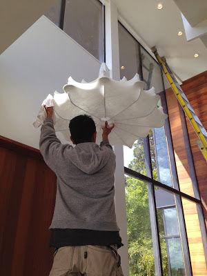 Marcel Wanders chandelier.