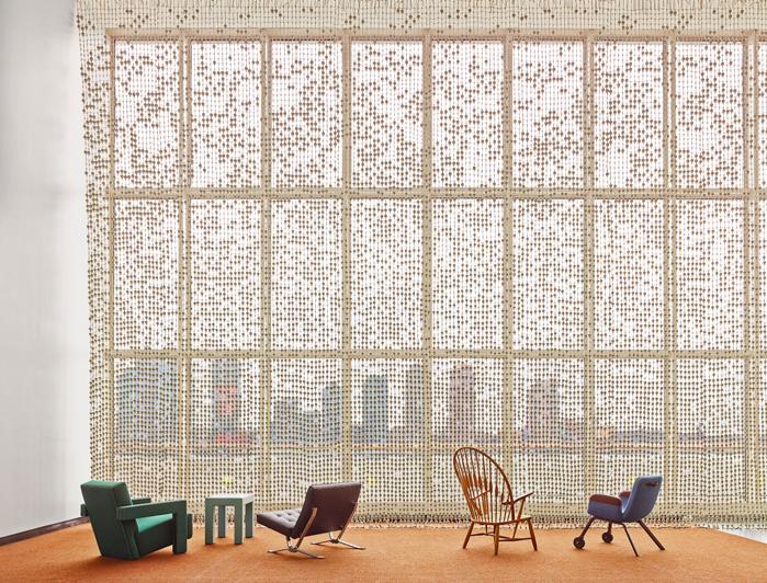 Jongerius's interior design at the United Nations.