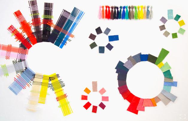 New Hopsak color library by Hella Jongerius.