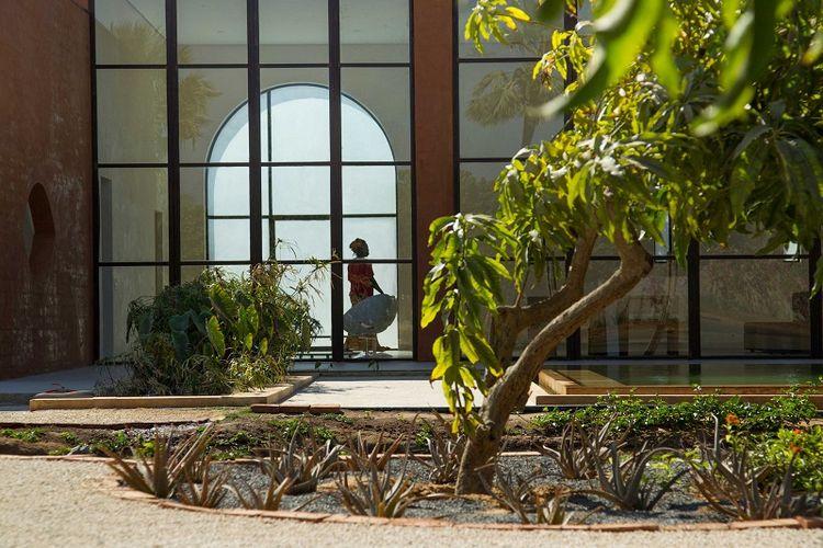 Khamsa earth brick home by Atelier Koe in Senegal