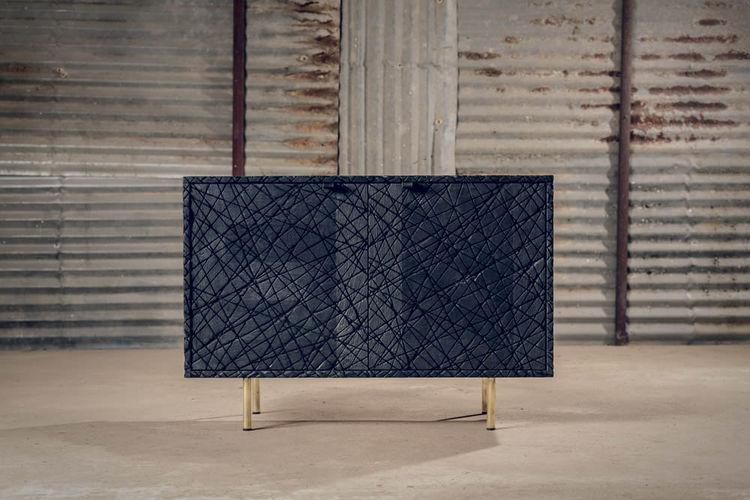 Black Scars Cabinet by Alon Dodo