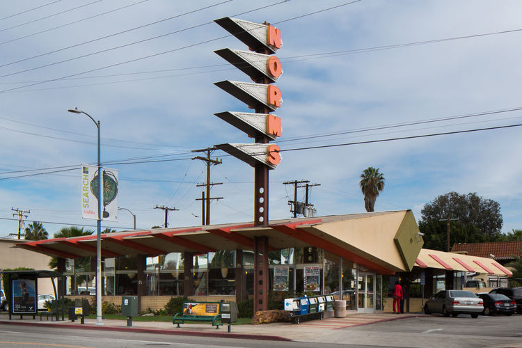 Norms La Cienega Los Angeles 2011 Googie Design LA Conservancy