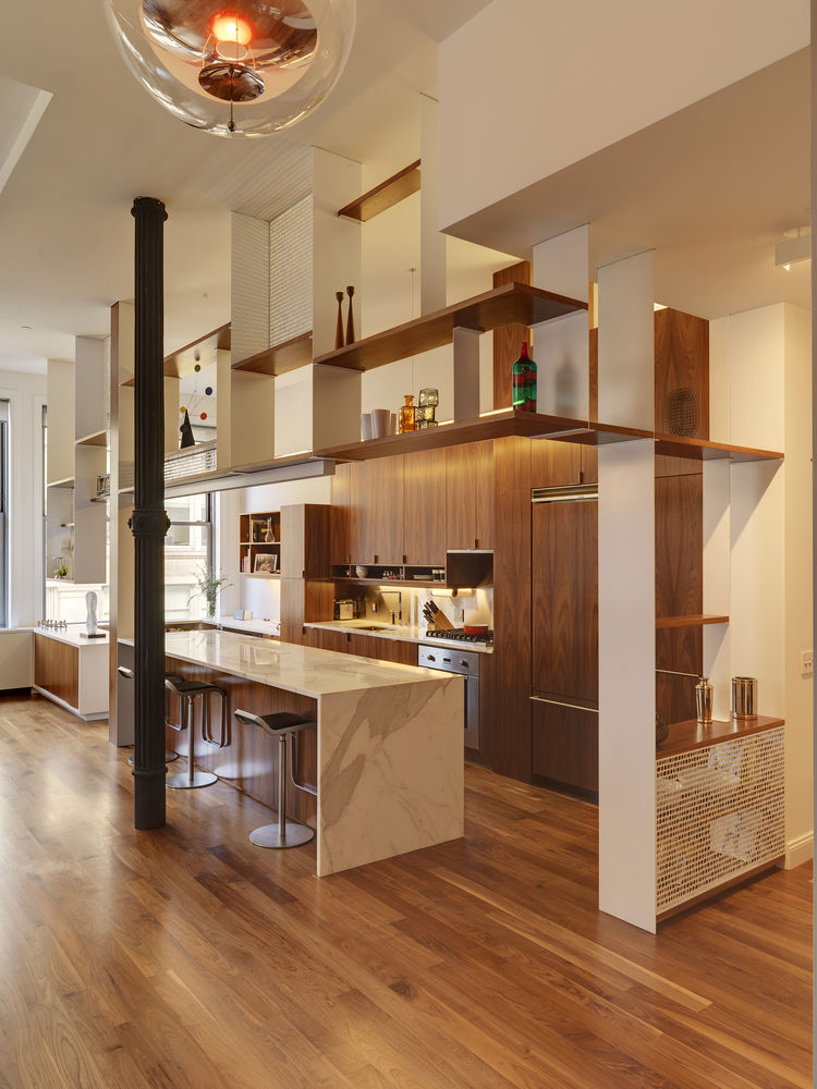 Bienstock/Sayer Family Apartment Kitchen