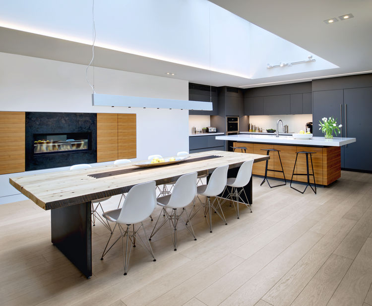 Cruickshank Mount Pleasant House Kitchen and Dining Areas, Toronto