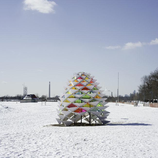Winter Stations Snowcone
