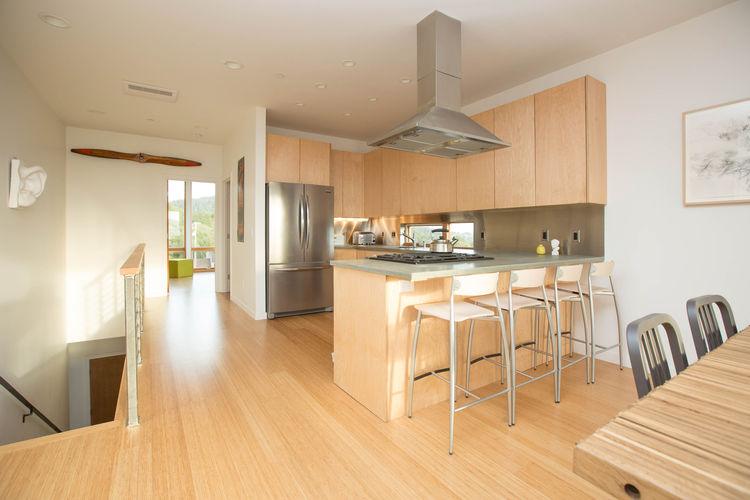 Cloverdale Prefab Home Kitchen