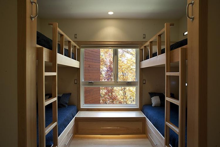 Aleph Residence Kids' Wing with Bunk Beds, Asheville, NC