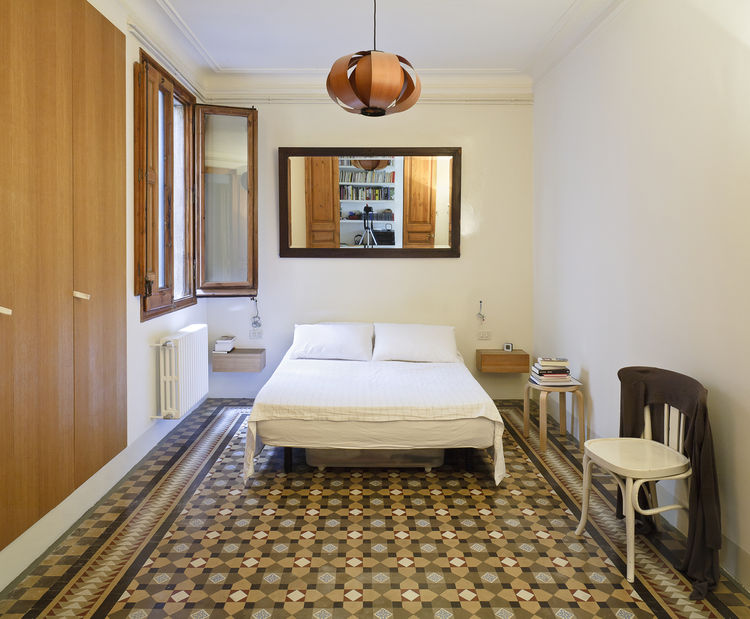 Barcelona Flat Master Bedroom
