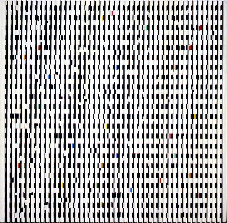 """Staccato"" by Yaacov Agam"