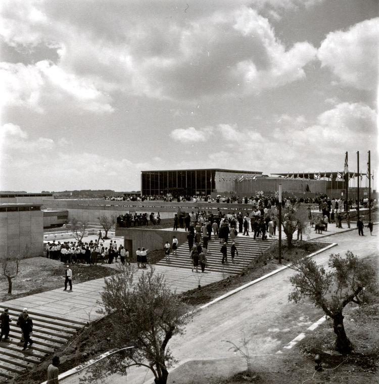Israel Museum designed by Al Mansfeld in 1965