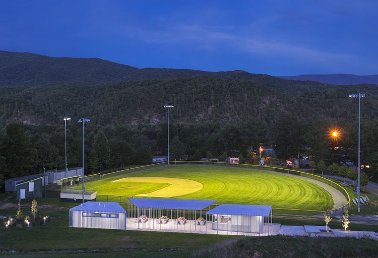 Sharon Fieldhouse in Clifton Forge, Virginia