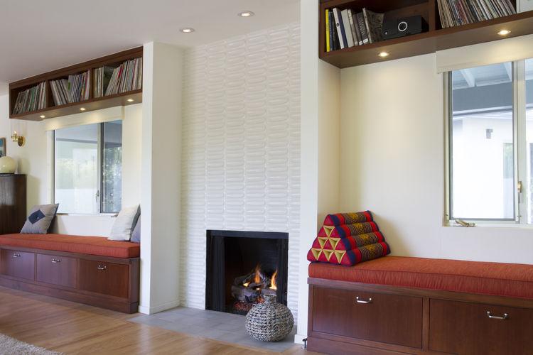 Vidal Renovation Living Room Fireplace