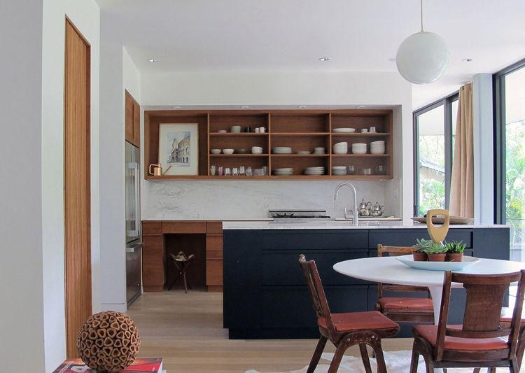 Midcentury Miami Home Kitchen